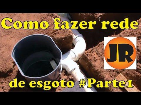 INSTALAÇÃO SANITÁRIA DE UMA CASA, REDE DE ESGOTO #PARTE1