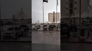 Finally it's raining in Dubai