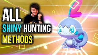 ALL Shiny Hunting Methods in Pokemon Sword & Pokemon Shield - Shiny Hunting Guide