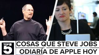 5 diseños de Apple que Steve Jobs odiaría