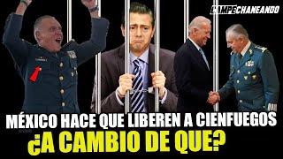 ¡ESTO ESTA RARO! GOBIERNO DE MÉXICO PIDIÓ A USA LIBERAR A SALVADOR CIENFUEGOS ¿POR QUÉ?