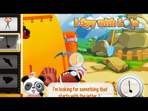 Video of I Spy With Lola: Fun Word Game
