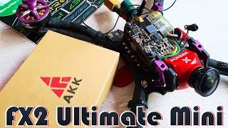 ✔ Видео передатчик AKK FX2 Ultimate Mini - 5V\12V Bec + MMCX\Smartaudio!