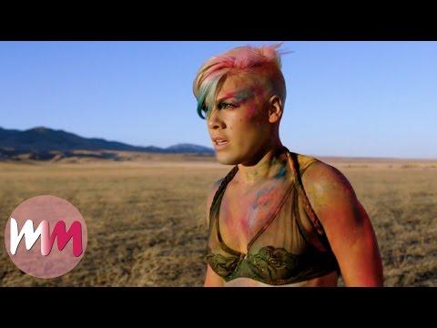 Top 10 Best Pink Music Videos