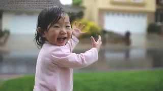 Jon Foreman - In My Arms - Sub español -Video - Bebé experimenta la lluvia por primera vez HD