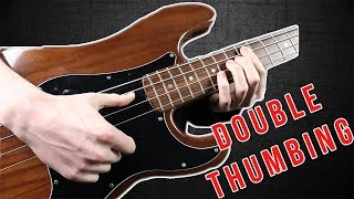 Double Thumb Bass Technique   Explained In 4 Simple Steps