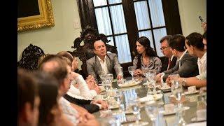INCUBATON NEA, capítulo Corrientes. Encuentro con el Vicegobernador