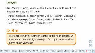 Eğitim Vadisi AYT Edebiyat 11.Föy Tanzimat Dönemi Şiiri 2 Konu Anlatım Videoları