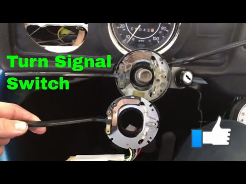 Replacement Turn Signal On A 73 VW Beetle