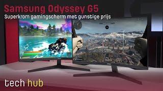 Samsung Odyssey G5 Review - Superkrom gamingscherm met gunstige prijs