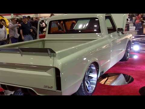 1967 Chevrolet C10 at World of Wheels Chicago 2016