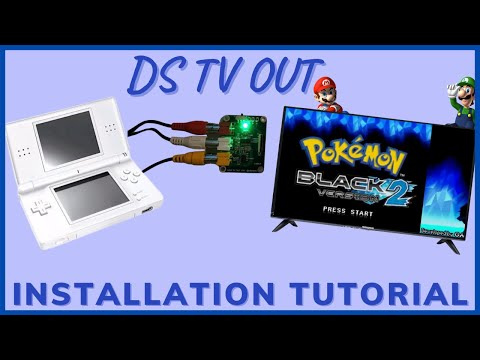 NDS TV OUT Installation Tutorial by radioactivepeter