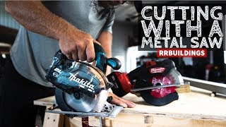 Cutting metal with a Circular Saw: Toolsday with Metal Saws