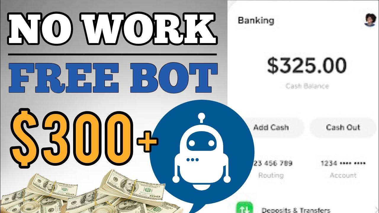 Make $300 Utilizing This FREE BOT|Earn Money Online 2021|Earn Money Online thumbnail