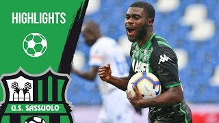 Serie A, highlights Sassuolo-Frosinone 2-2