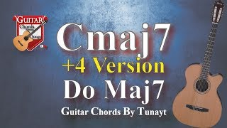 ★ C Maj 7 ★ How To Play Cmaj7 Chords On Guitar | Do Maj 7 Akoru Gitarda Nasıl Basılır ?