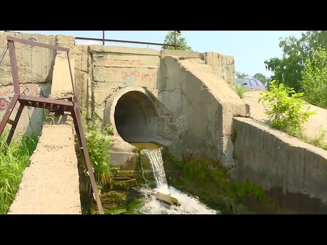 Кто сливает грязную воду в Китой?