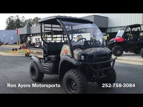 2020 Kawasaki Mule SX 4X4 XC Camo FI in Greenville, North Carolina - Video 1
