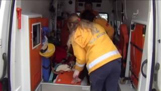 preview picture of video 'Kırıkkale'de otomobille cip çarpıştı 6 yaralı'