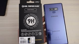 GPEL Real 9H Tempered Glass for the Samsung Galaxy Note 9!