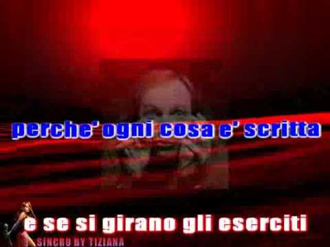 GLI SPARI SOPRA - VASCO ROSSI BASE MUSICALE KARAOKE CON TESTO