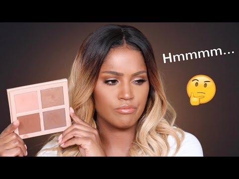 Kim Kardashian: KKW Beauty Highlight & Contour Powder Review