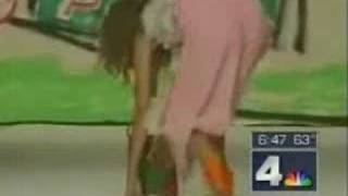 Funny Accident Catwalk Fall Video