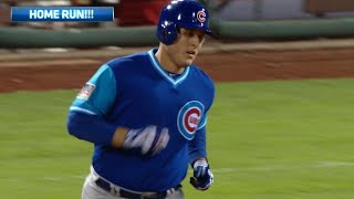 Chicago Cubs Hit 6 Home Runs And Score 17 Runners