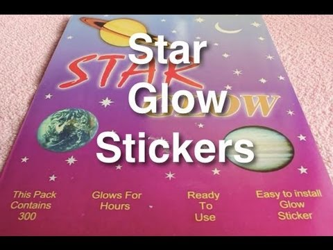 Star Glow stickers