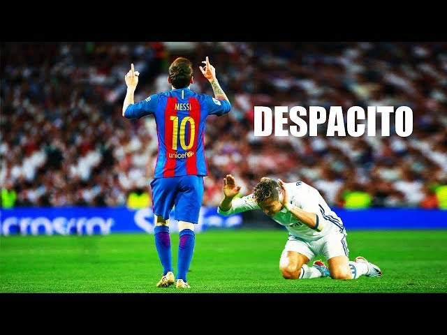 Lionel Messi - DESPACITO • Crazy Skills Show 2017