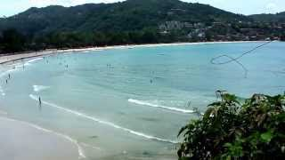 preview picture of video 'Kata Beach Phuket Thailand 2014'