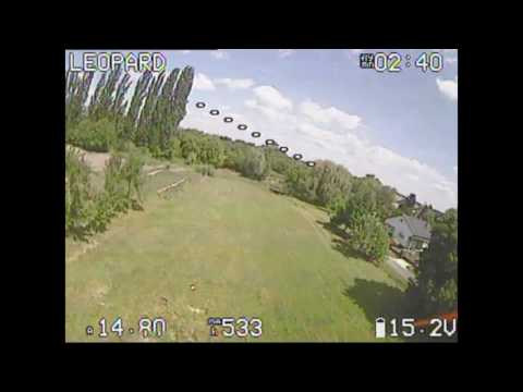 F4 FLAME Race Spec from banggood DVR flight footage