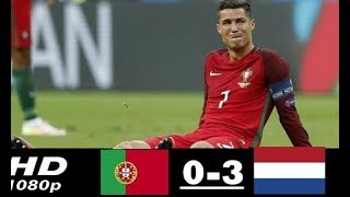 ЧТО ЭТО БЫЛО? ОБЗОР МАТЧА Португалия 0:3 Нидерланды / ГОЛЫ МАТЧА / Portugal Netherlands 26.03.2018