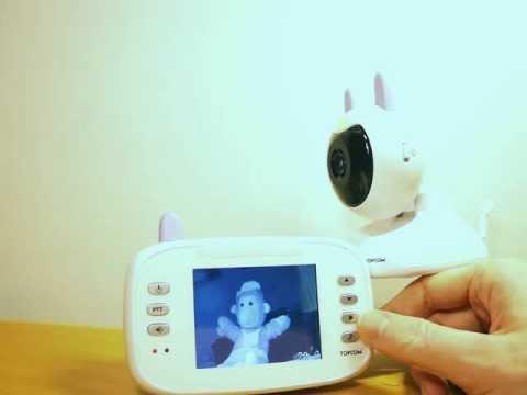 Test av Babyvakt med videofunktion - Topcom Babyviewer 4500 - Bäst-i-Test.se