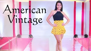 CATWALKS, GIRLS, And More At The 2nd Edition Of The American Vintage - Belankazar