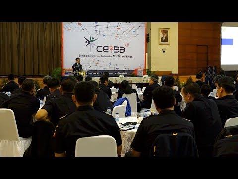 Hadapi Revolusi Industri 4.0 Bea Cukai Siapkan CEISA 4.0