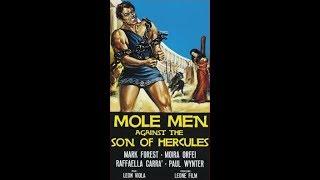Mole Men Against The Son of Hercules (1961) - Full Movie - Mark Forest, Moira Orfei
