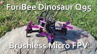 GEARBEST FuriBee Dinosaur Q95 Micro FPV BNF Quad - WAY TOO FUN!