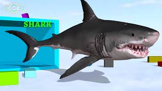 Learn Animals Name and Sound for Kids - Learning Video Educational for Children Babies