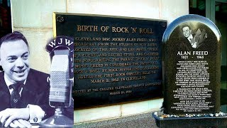 #877 Birth Site of Rock 'N' Roll & ALAN FREED Grave - Jordan The Lion Daily Travel Vlog (12/31/18)
