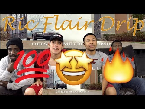 21 Savage, Offset, Metro Boomin - Ric Flair Drip reaction video !!