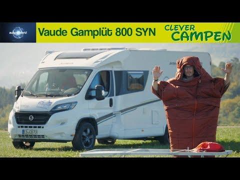 Vaude Gamplüt 800 SYN: Der Schlafsack mit Ärmeln - Ausprobiert!   Clever Campen