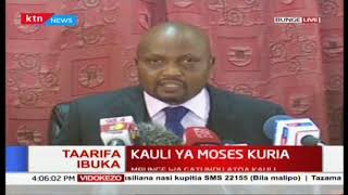 Moses Kuria speech I urge everyone to go back to work 2019