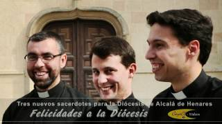 preview picture of video 'HD_El obispo de Alcalá de Henares ordena Tres nuevos sacerdotes 19-05-2012.mp4'