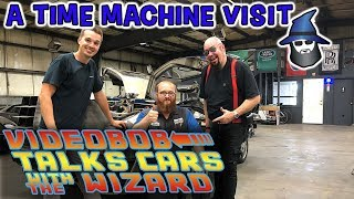 VideoBob Moseley and the CAR WIZARD talk DMC Time Machines