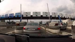 Highway/ Autostrade/ Autobahn Ancona (I) - Andermatt (CH) (Timelapse 25x) HD 1080p