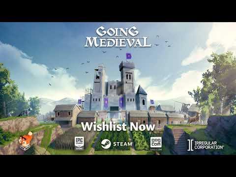 Trailer d'annonce de Going Medieval