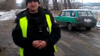Разрыв потрульной полиции Краматорска