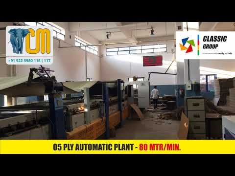 Fully Automatic Corrugated Box Making Machine - ECO line Mini