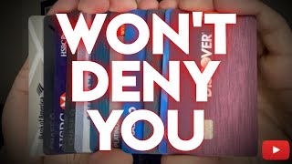 5 Credit Cards That WONT Deny You (Instant Approval)